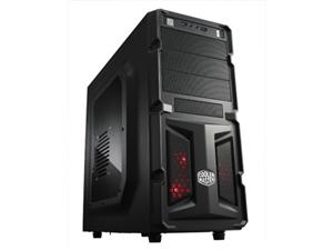 CoolerMaster case miditower K350, ATX,black,USB3.0 - RC-K350-KWN2-EN