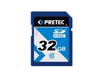 PRETEC SDHC 32 GB 233x, class 10 (31MB/s, 11MB/s) - PC10SDHC32G