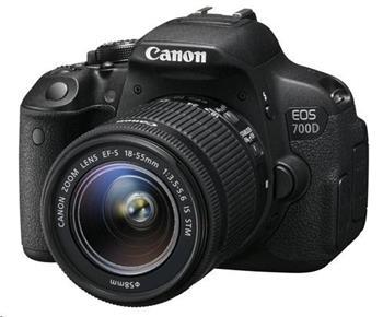 Canon EOS 700D + 18-55 STM - 8596B032