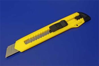 Lámací nůž, 18mm čepel, plastové tělo - 4040849771040