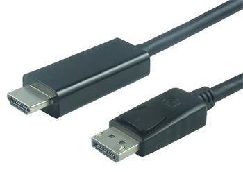 PremiumCord DisplayPort na HDMI kabel 3m M/M - kportadk01-03