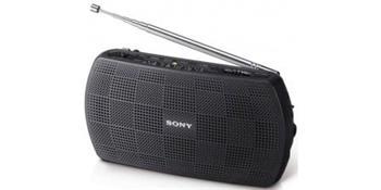Sony SRF-18 radiopřijímač, černý - SRF18B.CEV