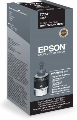 Epson T7741 Black ink 140ml pro M100/105/200 - C13T77414A