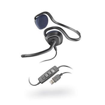 Sluchátka s mikrofonem Audio 648 DSP, USB, černá Plantronics - 81961-15