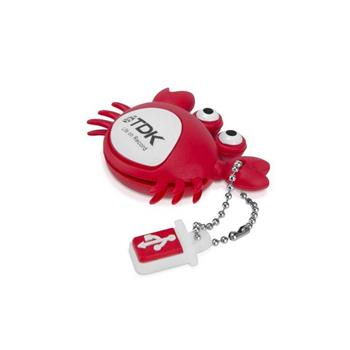 8GB USB Flash 2.0 Toys serie, krab TDK - t79020