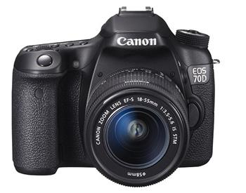 Canon EOS 70D Black + 18-55 IS STM - 8469B036
