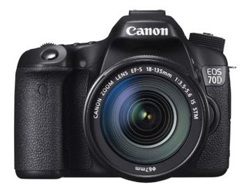 Canon EOS 70D Black + 18-135 IS STM - 8469B043
