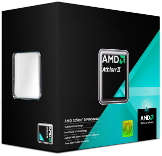 AMD Athlon™ II X2 Dual-Core 340 3,2GHz socket FM2, BOX - AD340XOKHJBOX