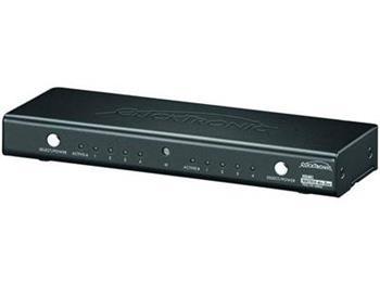ClickTronic HC 442 HDMI switch 4 vstupy na 2 výstupy s dálkovým ovládáním - HC 442