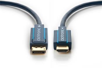 ClickTronic HQ OFC kabel DisplayPort M - HDMI M, 1m - CLICK70719