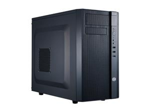 CoolerMaster case minitower series N200, ATX,black - NSE-200-KKN1