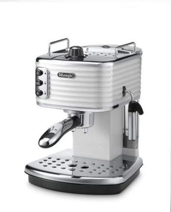 Delonghi ECZ 351 W pákový kávovar, perleťově bílá - ECZ 351 W
