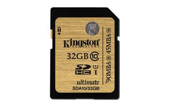 KINGSTON SDHC 32GB Ultimate UHS-I - SDA10/32GB