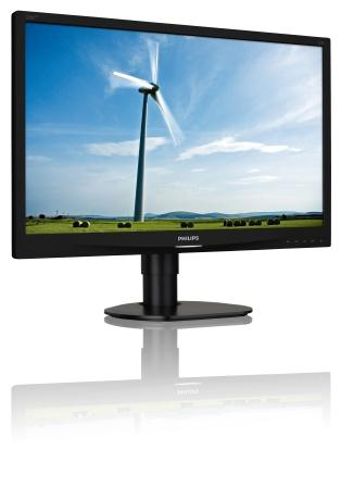 "Philips 220S4LCB 22"", 1680x1050, 5ms, DVI, LED, pivot - 220S4LCB/00"