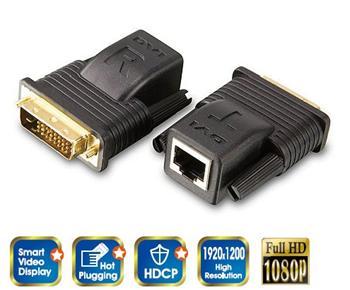 Aten VE-066 DVI prodlužovací adaptér (extender) do 20m - VE-066