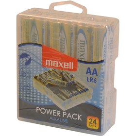 Maxell Alkaline AA 1,5V tužka POWER PACK 24ks - LR6 24 BP