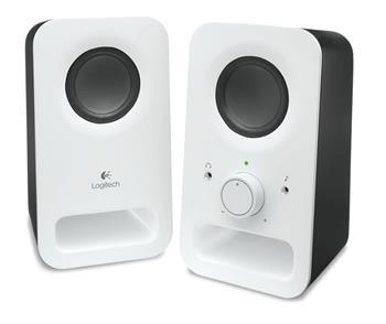 Reproduktory Logitech Speaker Z150, 2.0, 2x 1,5W, Snow white - 980-000815