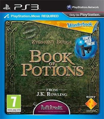 Wonderbook: Book of Potions / MOVE / PS3 - PS719264477