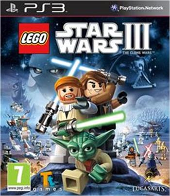 Lego Star Wars III: The Clone Wars PS3 - 92160715