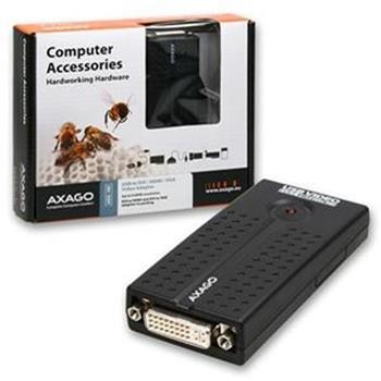 AXAGO USB2.0 - DVI/HDMI/VGA adapter FullHD - ADG-HD