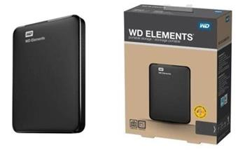 WD Elements Portable 2.5'' 1,5TB, USB 2.0/3.0 - WDBU6Y0015BBK-EESN