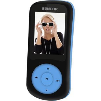 Sencor SFP 5870 BBU, MP3 přehrávač, 8GB, FM - SFP 5870 BBU