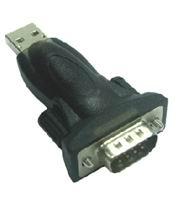 Adaptér USB / RS232 (MD9) převodník krátký + kabel - ku2-232a