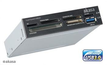 AKASA AK-ICR-14 USB 3.0 interní čtečka karet - AK-ICR-14