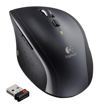 ROZBALENO Myš Logitech Marathon Mouse M705 nano silver - MYLOM705SILx