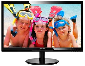 "Philips 246V5LSB 24"" LED, D-Sub, DVI - 246V5LSB/00"