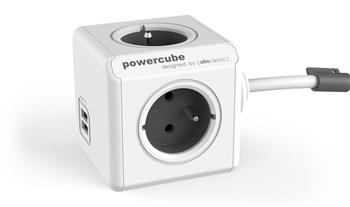 PowerCube EXTENDED USB - EXTENDED USB GREY