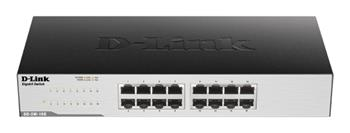 D-Link GO-SW-16G, 16-Port GIGABIT DESKTOP SWITCH - GO-SW-16G/E
