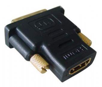 Redukce HDMI A(F) - DVI D(M) zlacený - A-HDMI-DVI-2