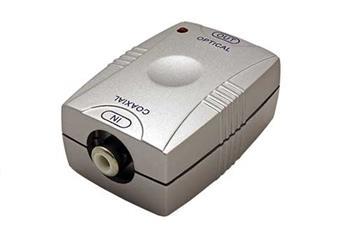 Převodník pro digitální audio S/PDIF z CINCH na Toslink - 12.92.2005