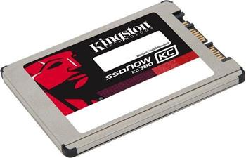 Kingston SSD disk SSDNow KC380 120GB, SATA3, 1.8'', micro SATA - SKC380S3/120G