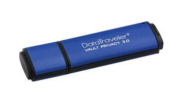 Kingston DataTraveler Vault Privacy 3.0 8GB, šifrování - DTVP30/8GB
