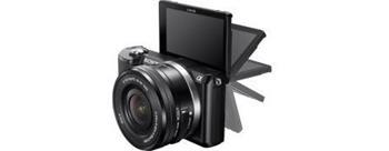 Sony ILCE-5000 Alfa + 16-50mm, černý - ILCE5000LB.CEC