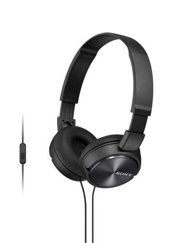 Sony MDR-ZX310AP sluchátka, černé - MDRZX310APB.CE7