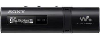 Sony NWZ-B183 – Přehrávač WALKMAN s portem USB, 4GB, black - NWZB183B.CEW
