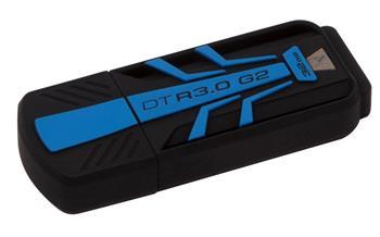 Kingston DataTraveler R30 32GB USB 3.0 odolný flashdisk černo-modrý - DTR30G2/32GB