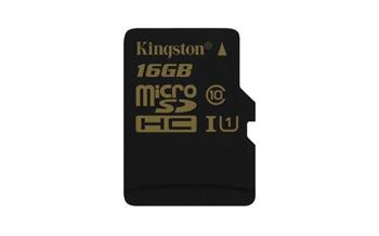 Kingston Micro SDHC karta 16GB Class 10 UHS-I - SDCA10/16GBSP