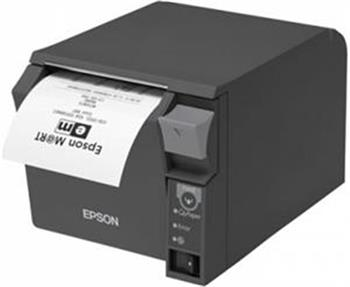 EPSON pokl.termo TM-T70II,černá,serial+USB,zdroj - C31CD38032