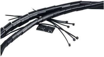 AKASA souprava na svazování kabelů černá - AK-TK-01BK