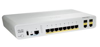 Cisco WS-C2960C-8PC-L (8xFE PoE,2xDL, LAN Base) - WS-C2960C-8PC-L
