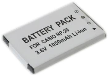 baterie pro foto Casio NP-20 600mAh - np-20