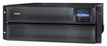 APC Smart-UPS X 3000VA (2700W) Rack 4U / Tower LCD, hl. 48,3 cm - SMX3000HV