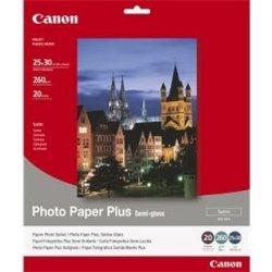 Canon SG-201 Paper Plus Semi Gloss 25x30cm, 20 listů, 260g/m2, pololesk - 1686B024