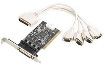 i-tec PCI POS Card 4x Powered RS232 DC 5/12V - PCIPO4S
