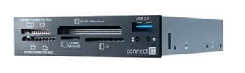 CONNECT IT čtečka karet s USB 2.0, interní - CI-182
