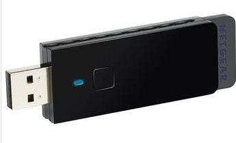 NETGEAR N300 WiFi USB Adapter, WNA3100 - WNA3100-100PES